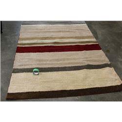 NEW 5 X 8 WOOL AREA CARPET RETAIL $299