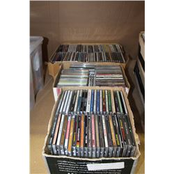 THREE BOXES OF CDS