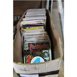 BOX OF VARIOUS COMIC BOOKS