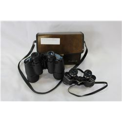 TWO PAIR OF TASCO BINOCULARS