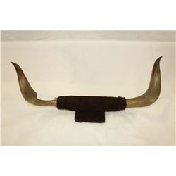 SET OF STEER HORNS