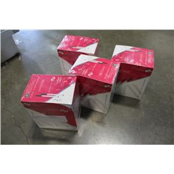 FOUR BOXES OF E-VPOURIZERS CHERRY