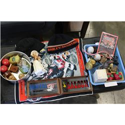 TRAY OF COLLECTIBLES