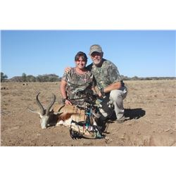 South African Plains Game Safari for Two Hunters