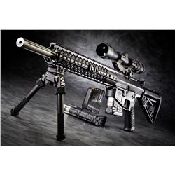 Custom built AR-10 rifle  NOTE: IN-HOUSE BIDDING ONLY