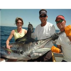 Costa Rica or N. Carolina Fishing Trip or Argentina Dove Hunt For 4 People