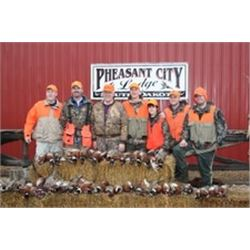 2-day South Dakota Pheasant Hunt for Two Hunters