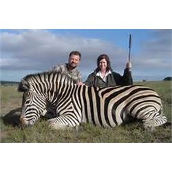 Six Day Plains Game Hunt for 2 Hunters, Zebra, Warthog and Baboon for Each Hunter