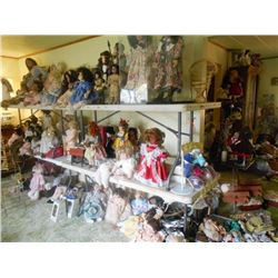 ENTIRE DOLL COLLECTION WHOLESALE OFFER