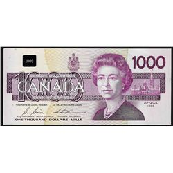 1988 $1000 Bank of Canada Bird Note Uncirculated