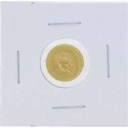 1855 $1 Gold Dollar Type 2 Coin