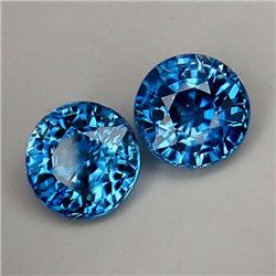 Natural Combodian Rare Blue Zircon 5.35 Ct - VVS