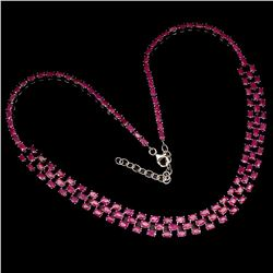 Stunning Natural  Ruby 207 Carats Necklace