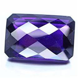 Natural Purple Violet Pink Octagon Amethyst 201.50 Cts.