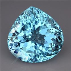 Natural Swiss Blue Topaz 37.75 carats - VVS