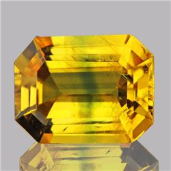 Natural Top Golden Yellow Sapphire 1.32 cts - VVS
