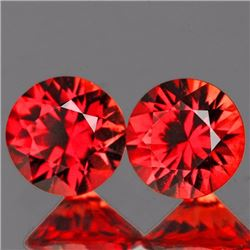 Natural Orange/Red Sapphire 3.80 MM - VVS