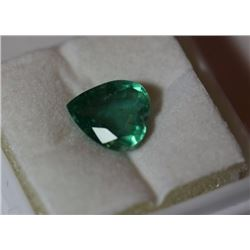 Natural Emerald Heart 2.45 Carats - no Treatment