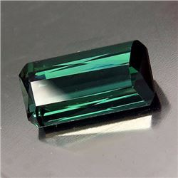 Natural Rare Teal Green Tourmaline 2.31 ct - VVS