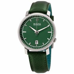 Bulova Accutron Genuine Leather Watch