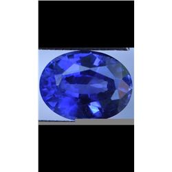 Natural Cornflower Blue Sapphire 1.64 Carats Untreated