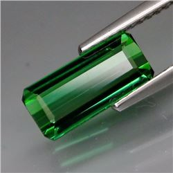 Natural Bluish Green Tourmaline 2.01 Cts