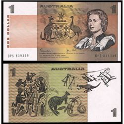 Australia, QEII, One Dollar, Johnston/Stone, 1982, Last Prefix (R.78L)