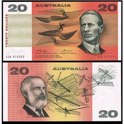 Australia, QEII, Twenty Dollars, Phillips/Wheeler, 1974 (R.305)
