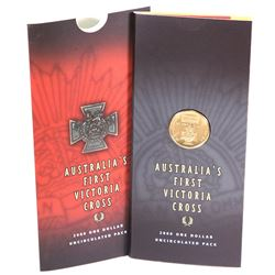 Australia, Uncirculated One Dollar, Victoria Cross, 2000