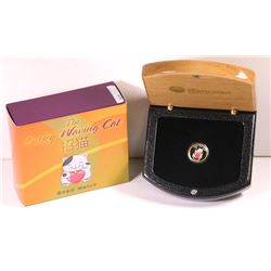 Australia, Perth Mint, Proof Gold Five Dollars, The Lucky Waving Cat, 2008