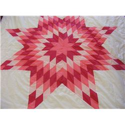Authentic Native American Sioux Star Quilt