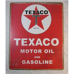 Vintage Look Texaco Tin Sign