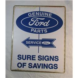 Vintage Look Ford Tin Sign