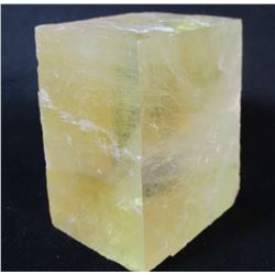 Citrine Calcite Block