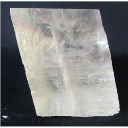 Citrine Calcite Block with Great Light Play