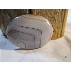 Polished Agate Oval Cab 1.5""