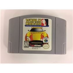 World Driver: Championship (Nintendo 64) Game Cart Only N64 **