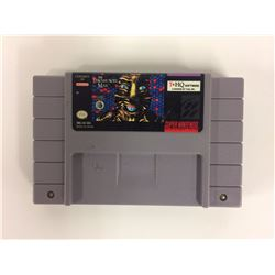 Super Nintendo SNES The Lawnmower Man (game only)