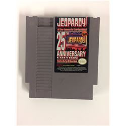 ¤ Jeopardy 25th Anniversary ¤ (Game Cart) GREAT Nintendo NES
