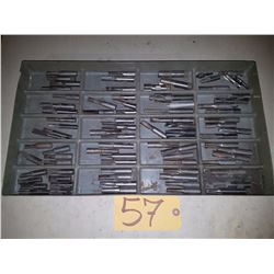 Box of Carbide Tipped Ends Mill & other tools