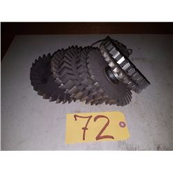 Lot of Milling Cutter 7''