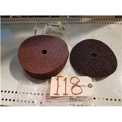 Scotch-Brite Sanding Disc 7''