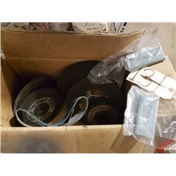 Box with Abrasive contain