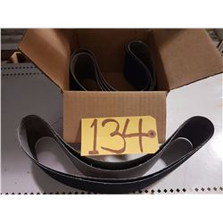 Box of Abrasive Belts 3''1/2 x 36 Gr80 & 60