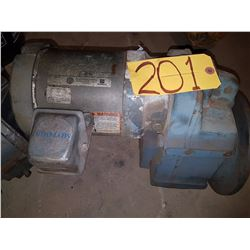US Electrical Motor 575v with gear box