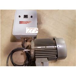 Electric Motor with Control