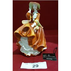 """ROYAL DOULTON """"TOP OF THE HILL"""" HN4778 FIGURINE"""