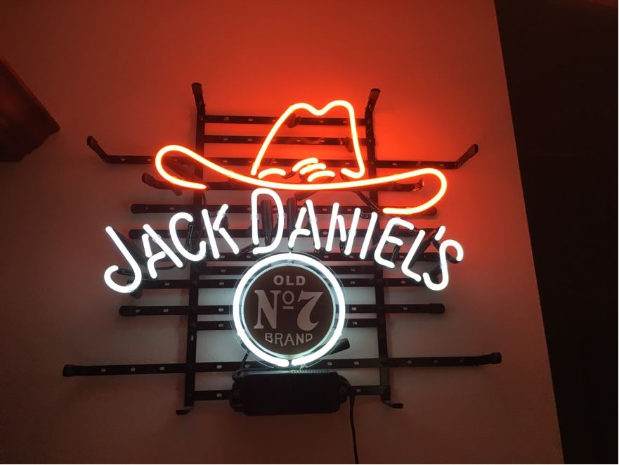Jack Daniels Neon Bar Sign - Old No7 Brand - New Condition!