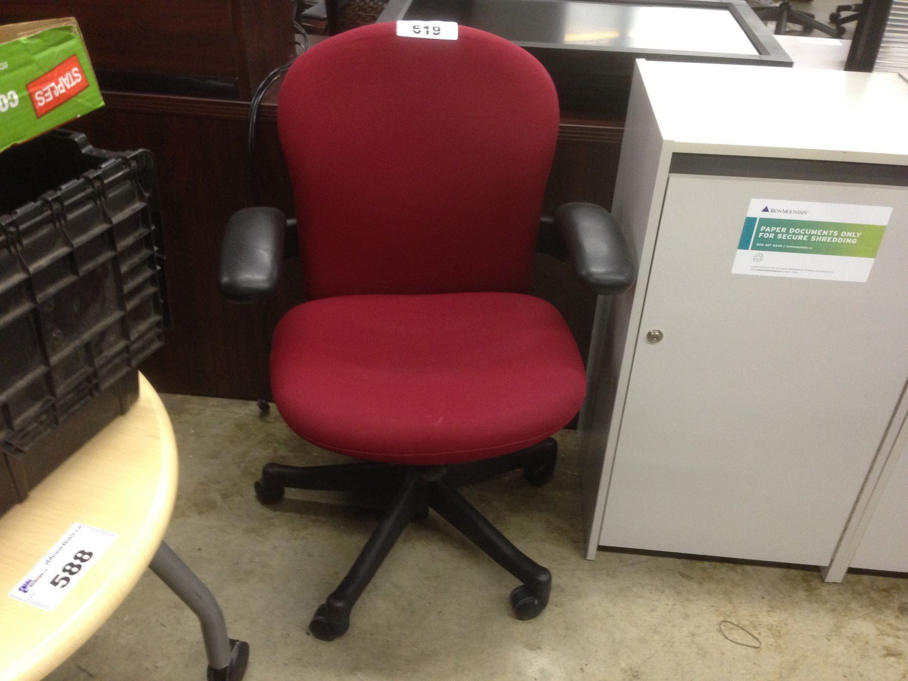 herman miller reaction red ultra ergonomic multi lever task chair