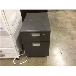 STEELCASE ROLLING / LOCKING FILE PEDESTAL